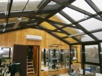 Монтаж кондиционера в деревянном доме