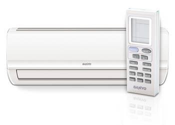 Инверторный кондиционер Sanyo SAP-KCRV9AEH